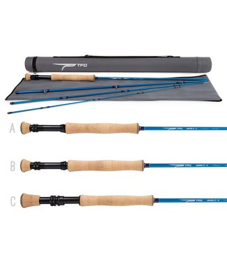 Temple Fork Outfitters Axiom II X 9' 8wt 4pc w/ case