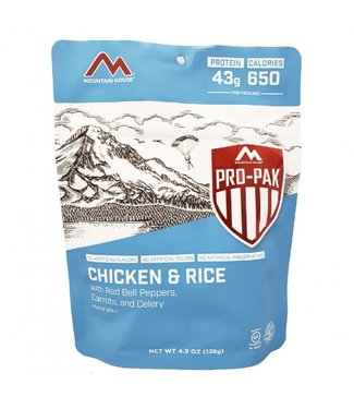 Mountain House Foods Pro-Pak Rice & Chicken