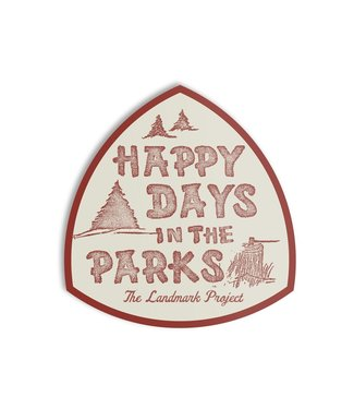 The Landmark Project Happy Days Sticker