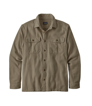 Patagonia M's L/S Natural Dye Fjord Flannel Shirt