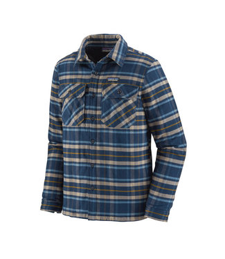 Patagonia M's Insulated Fjord Flannel Jacket