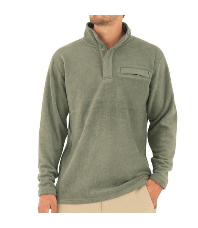 Free Fly M's Bamboo Polar Fleece Snap Pullover