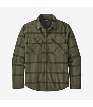 Patagonia M's L/S Recycled Wool Shirt