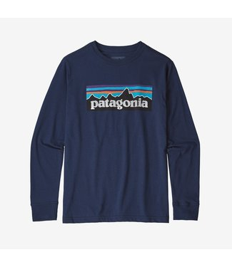 Patagonia Boys' L/S Graphic Organic T-Shirt