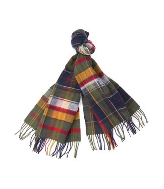Barbour Mixed Tartan Scarf