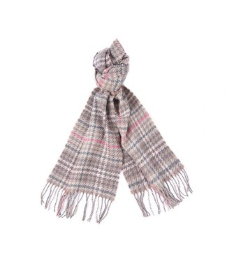 Barbour W's Barmack Houndstooth Tartan Scarf