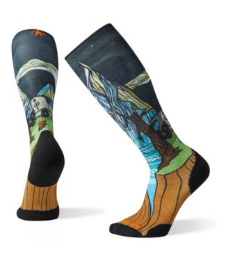 Smartwool PhD Ski Light Elite Benchetler Print