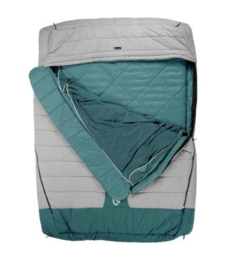 Nemo Jazz Duo Sleeping Bag Aluminum/Wave