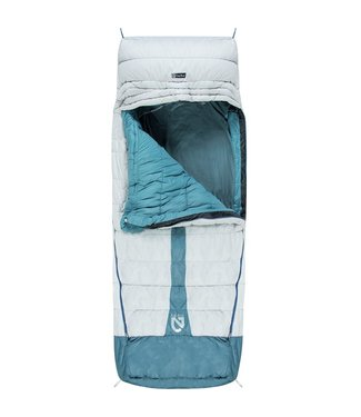 Nemo Jazz Luxury Sleeping Bag Aluminum/Wave