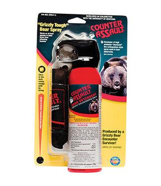 COUNTER ASSAULT Bear Spray 8.1oz w/ Holster