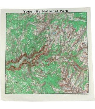 THE PRINTED IMAGE Yosemite Topo Bandana