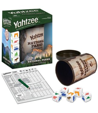 HASBRO Yahtzee - National Parks