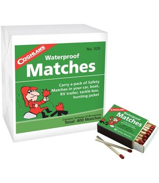COGHLANS Waterproof Matches 10 Boxes