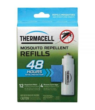 THERMACELL Therm Mat Only Refill 48Hrs.