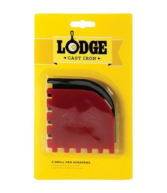 Lodge Pan Scrapers 2pk