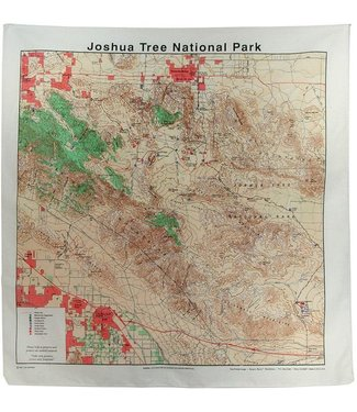 THE PRINTED IMAGE Joshua Tree Topo Bandana