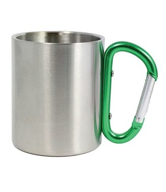 Carabiner Mug-Green 10oz