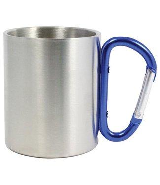 Carabiner Mug-Blue 8oz