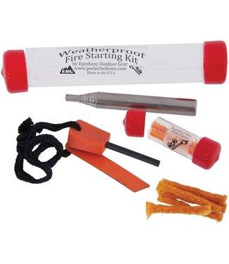 Bellows Fire Starting Kit