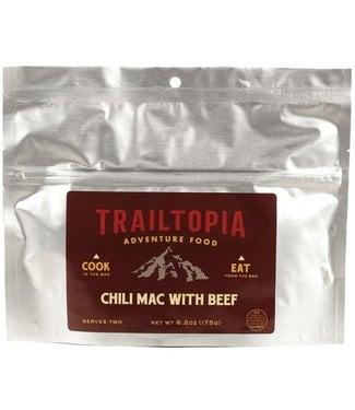 Trailtopia Chili Mac w/Beef