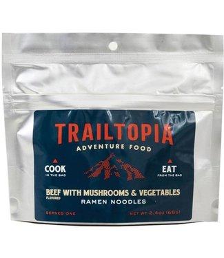 Trailtopia Liberty Mountain Beef & Vegetable Ramen