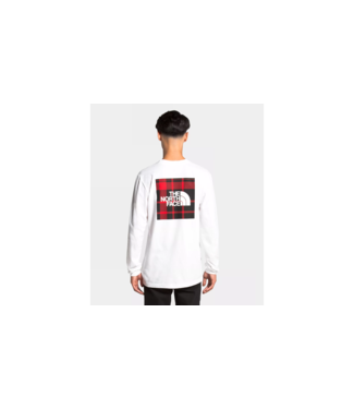 The North Face Unisex L/S Holiday Red Box Tee