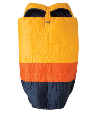 "Big Agnes Big Creek 30 (FireLine Eco) 40"" DOUBLE WIDE Yellow/Orange/Navy"