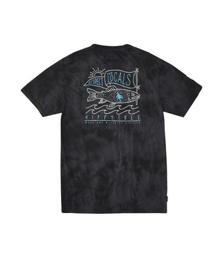 Hippy Tree M's Locals Cloud Wash Tee