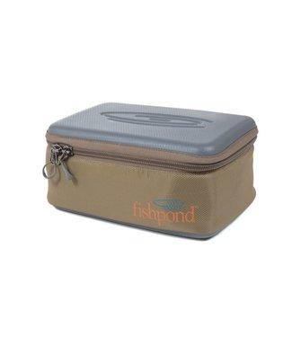 Fishpond Inc. Ripple Reel Case Large Sand/Saddle Brown