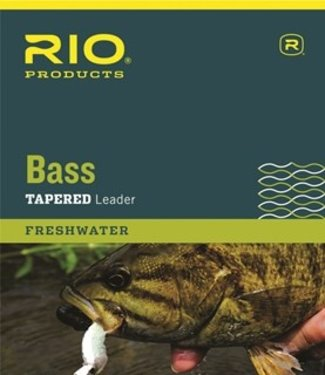 Rio Products Bass Leader 9' 3PK