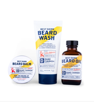 Duke Cannon Best Damn Beard Kit