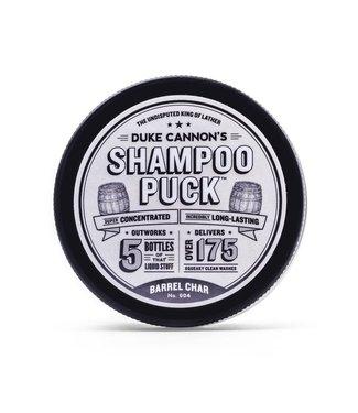 Duke Cannon Shampoo Puck Barrel Char