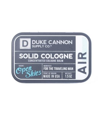 Duke Cannon Solid Cologne Open Skies
