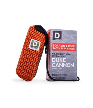 Duke Cannon Tactical Soap on a Rope Scrubber