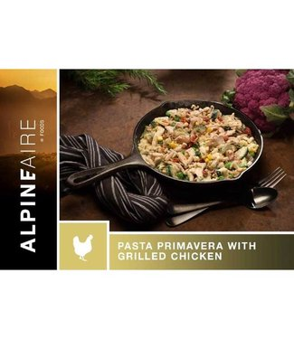 AlpineAire Pasta Primavera W/Grilled Chicken