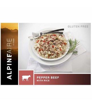 AlpineAire Pepper Steak  W/Rice