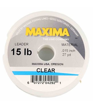 Maxima Clear Tippet