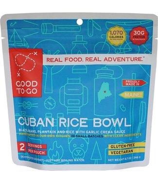 Good To-Go Foods Cuban Rice Bowl