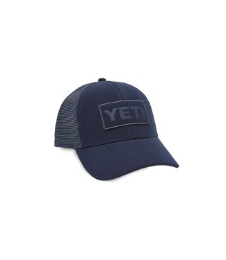 Yeti Coolers Navy Patch Trucker Hat
