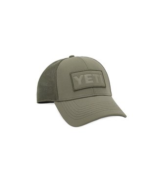 Yeti Coolers Olive Patch Trucker Hat