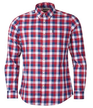 Barbour M's Gingham 25 Tailored