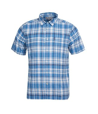 Barbour M's Linen Mix 2 S/S Shirt
