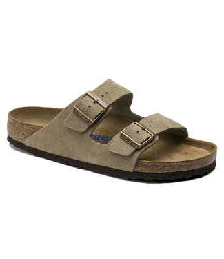 Birkenstock M's Arizona Soft Footbed Suede Leather