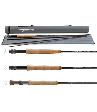 Temple Fork Outfitters Blue Ribbon Rod w/ Case