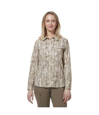 Royal Robbins W's Bug Barrier Expedition II L/S Print