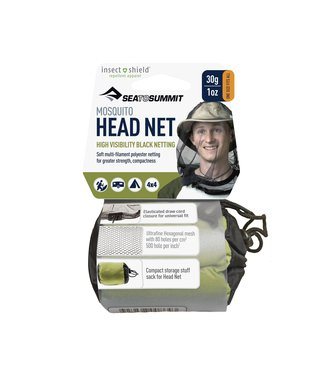 Sea to Summit Mosquito Head Net w Insect Shield