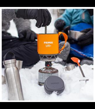 Primus Lite Plus Backpacking Stove-Orange