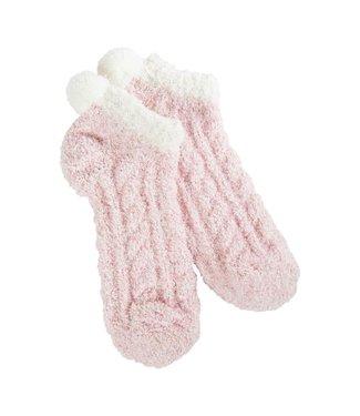 Crescent Socks W's Cozy Pom Low