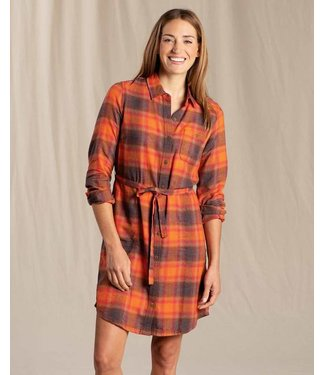 Toad & Co W's Re-Form Flannel Shirtdress