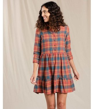 Toad & Co W's Re-Form Tiered Dress